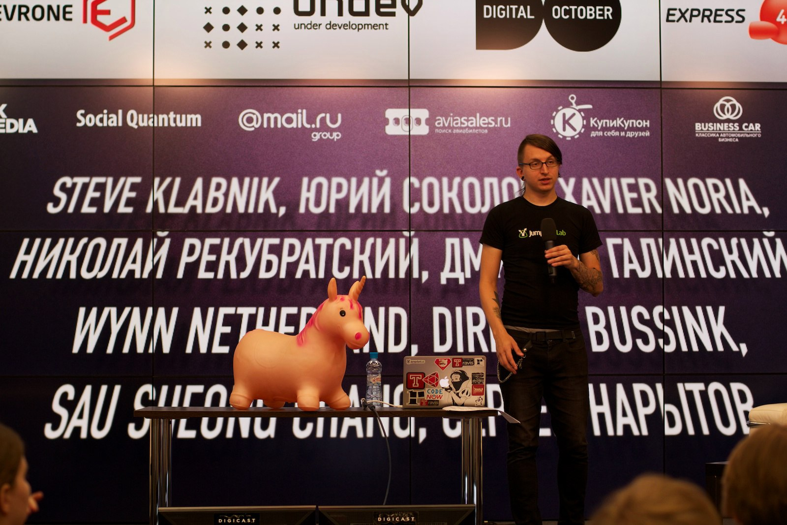 Steve Klabnik at RubyRussia